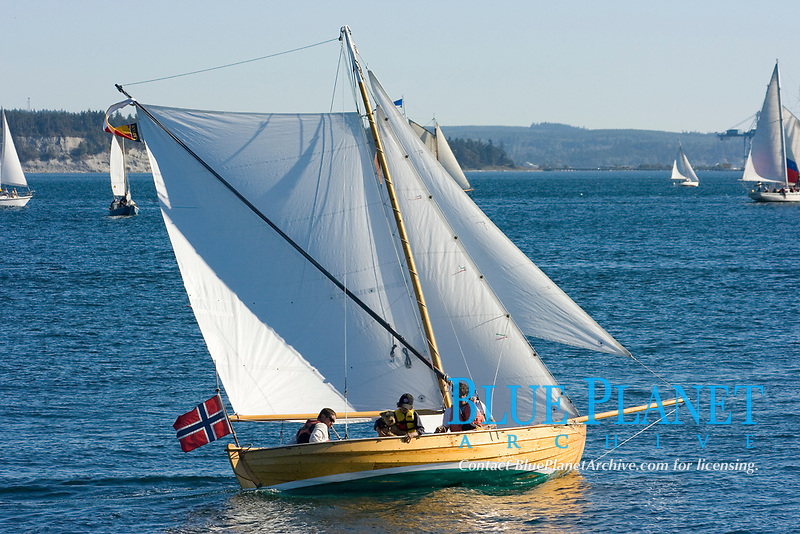 Boats of every imaginable size,shape and style come together at the annual Port Townsend Wooden Boat Festival. Port Townsend is a quaint town located on Washingtons Olympic Peninsula and the Puget Sound.