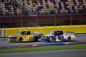 #4: Todd Gilliland, Kyle Busch Motorsports, Toyota Tundra Pedigree, #13: Myatt Snider, ThorSport Racing, Ford F-150 Century Container/ Louisiana Hot Sauce