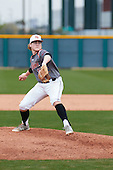 Dillon Carter (11) of Argyle HS High School in Flower Mound, Texas during the Under Armour All-American Pre-Season Tournament presented by Baseball Factory on January 15, 2017 at Sloan Park in Mesa, Arizona.  (Freek BouwMike Janes Photography)