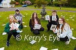 Killarney community College students Ellie Noonan, Kristians Kristians, Aoibhinn McCrank, Mentas Bendicius Layla  Williams Guerin, taking part in the orienteering and team building games in Killarney National Park on Monday