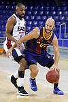 LLIGA NACIONAL CATALANA ACB 2020 AON.<br /> Barça vs Baixi Manresa: 92-82.<br /> Jonathan Tabu vs Nick Calathes.