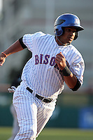 Buffalo Bisons outfielder Fernando Martinez #26 during a game against the Syracuse Chiefs at Dunn Tire Park on April 7, 2011 in Buffalo, New York.  Syracuse defeated Buffalo 8-5.  Photo By Mike Janes/Four Seam Images