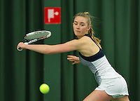 Rotterdam, The Netherlands, March 18, 2016,  TV Victoria, NOJK 14/18 years, Jiva de Veer (NED)<br /> Photo: Tennisimages/Henk Koster