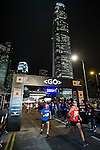 Runners in action during the Bloomberg Square Mile Relay along Edinburgh Place in the city's central district on 10 November 2016 in Hong Kong, China. Photo by Lucas Schifres / Power Sport Images