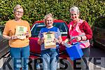 Wk 38 At the Glenbeigh/Glencar GAA Drive-in Bingo on Sunday afternoon <br /> L-R Dawn O'Sullivan, Tralee, Bridgid O'Shea, Blennerville, & Mary Chris Kelly from Glenbeigh/Glencar GAA