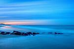 Starry sky at the Parker River NWR, Newburyport, Massachusetts, USA