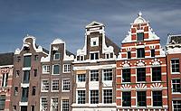 Nederland  Amsterdam   2021.  Grachtenpanden in Amsterdam. Foto Berlinda van Dam / HH / ANP.