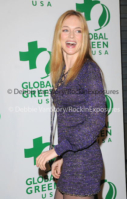 February 19,2009: Heather Graham at The 6th Annual Global Green USA Pre-Oscar Party benefiting Green Schools held at Avalon in Hollywood, California. Copyright 2009 RockinExposures/NYDN