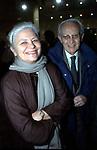 GIOVANNI E GIULIANA BERLINGUER <br /> TEATRO ERGENTINA ROMA 2002