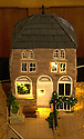 """08/12/16<br /> <br /> Old co-op - now Youth Hostel.<br /> <br /> In this incredibly detailed replica of a small Peak District village, everything is edible, from the baubles on the Christmas trees to the flowers around the houses and what's more the """"village"""" is made from 35 individual rich fruit Christmas cakes which will be eaten on the 25th!<br /> <br /> The amazing model village is made up of 18 shops and houses, which are all realistic reproductions of the actual buildings found in Youlgreave, and is open to the public to view at All Saints' church, the main focal point of the miniature masterpiece.<br /> <br /> Retired florist Lynn Nolan, who decorated all the cakes, came up with the original idea as a way of raising money for the church, which needs a new roof, and the first of the cakes went in the oven back in April.<br /> <br /> MORE...https://fstoppressblog.wordpress.com/the-village-thats-really-a-christmas-cake/<br /> <br /> All Rights Reserved F Stop Press Ltd. (0)1773 550665   www.fstoppress.com"""