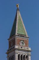 Italie, Vénétie, Venise: t le Campanile de Saint-Marc // Italy, Veneto, Venice:  St Mark's Campanile