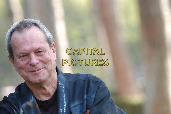"TERRY GILLIAM.Photocall for the film ""Tideland"", Rome, Italy..October 29th, 2007 .headshot portrait .CAP/CAV.©Luca Cavallari/Capital Pictures."