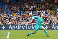 Thomas Kraft of Hertha Berlin throws the ball out during the pre season friendly match between Crystal Palace and Hertha BSC at Selhurst Park, London, England on 3 August 2019. Photo by Carlton Myrie / PRiME Media Images.