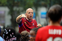 WPS Soccer Clinic Bryant Park August 25 2011