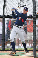 March 20th 2008:  Rolando Petit works out for the Cleveland Indians at Chain of Lakes Park in Winter Haven, FL.  Photo by:  Mike Janes/Four Seam Images