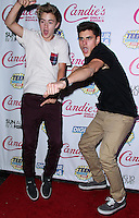 BEVERLY HILLS, CA, USA - AUGUST 09: Jack Johnson, Jack Gilinsky at the DigiTour and Candie's Official Teen Choice Awards 2014 Pre-Party held at The Gibson Showroom on August 9, 2014 in Beverly Hills, California, United States. (Photo by Xavier Collin/Celebrity Monitor)