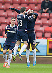Yoann Arquin celebrates with Graham Carey