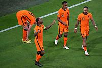 AMSTERDAM, 13-06-2021 Johan Cruyff Arena, Group stage of EURO2020 between Netherlands and Ukraine.  Netherlands player Georginio Wijnaldum celebrating the 1-0<br /> Photo Pro Shots / Insidefoto <br /> ITALY ONLY