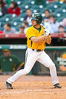 Logan Vick #19 of the Baylor Bears at bat against the Rice Owls at Minute Maid Park on March 6, 2011 in Houston, Texas.  Photo by Brian Westerholt / Four Seam Images