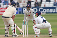Essex skipper Ryan ten Doeschate looks on from his close fielding position during Essex CCC vs Middlesex CCC, Specsavers County Championship Division 1 Cricket at The Cloudfm County Ground on 29th June 2017