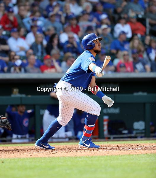 Cristhian Adames - Chicago Cubs 2019 spring training (Bill Mitchell)