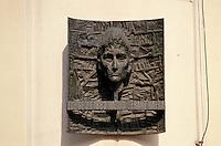 Tschechien, Prag, Gedenktafel am Geburtshaus von Kafka, Unesco-Weltkulturerbe