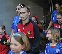 Qualification Women's Euro 2013 - Belgium - Iceland ; Belgie - Ijsland ; Armand Melis Stadion Dessel :.Janice Cayman.foto DAVID CATRY / Vrouwenteam.be