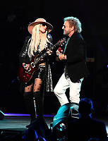 LOS ANGELES - JANUARY 24: Orianthi and Sammy Hagar perform on the 2020 MusiCares Person of the Year tribute concert honoring Aerosmith on January 24, 2020 in Los Angeles, California. (Photo by Frank Micelotta/PictureGroup)