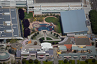 aerial photograph of the Zeum Children's Museum, Moscone Center, San Francisco, California