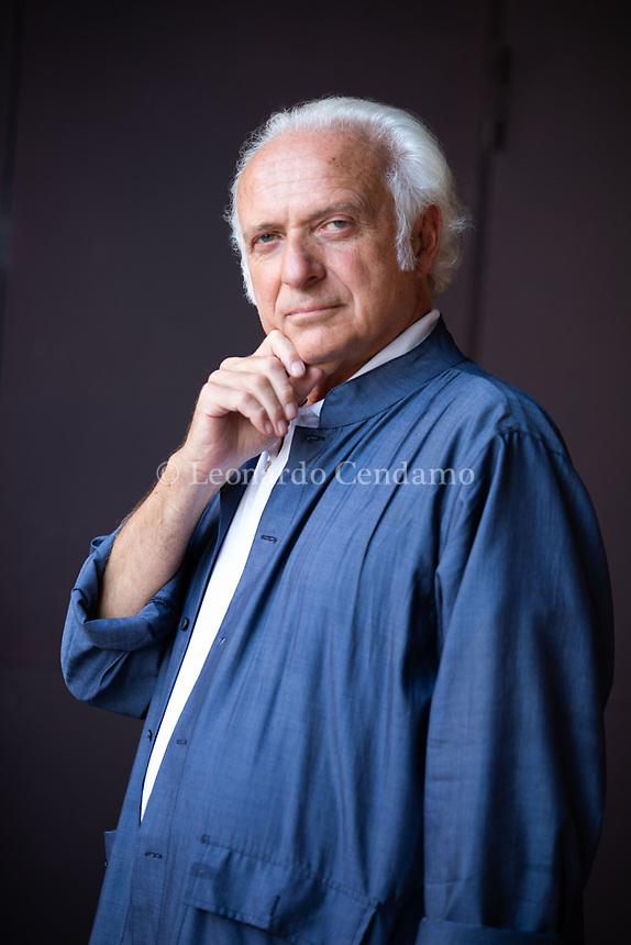 Mauro Carbone è professore ordinario di Filosofia presso l'Université Jean Moulin Lyon 3. In precedenza è stato a lungo docente presso l'Università degli Studi di Milano. Mantova, 11 settembre 2021. Photo by Leonardo Cendamo/Getty Images