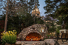 May 12, 2020; Grotto and Dome (Photo by Matt Cashore/University of Notre Dame)