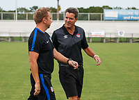 Lakewood Ranch, FL - Sunday July 23, 2017: USA coach, Canada coach during an international friendly match between the paralympic national teams of the United States (USA) and Canada (CAN) at Premier Sports Campus at Lakewood Ranch.