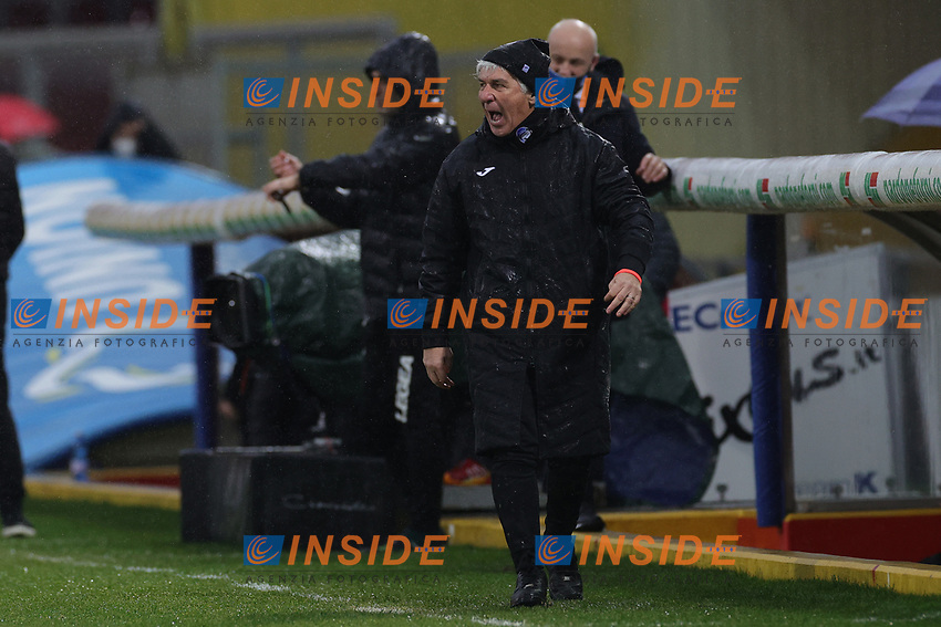 Gian Piero Gasperini coach of Atalanta BC during the Serie A football match between Benevento Calcio and Atalanta BC at stadio Ciro Vigorito in Benevento (Italy), January 09, 2021. <br /> Photo Cesare Purini / Insidefoto