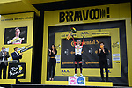 Yellow Jersey Tadej Pogacar (SLO) UAE Team Emirates wins Stage 18 of the 2021 Tour de France, running 129.7km from Pau to Luz-Ardiden, France. 15th July 2021.  <br /> Picture: Colin Flockton   Cyclefile<br /> <br /> All photos usage must carry mandatory copyright credit (© Cyclefile   Colin Flockton)