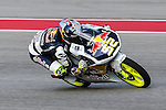 Danny Kent (52) in action during the Red Bull Grand Prix of the Americas practice sessions at Circuit of the Americas racetrack in Austin,Texas.