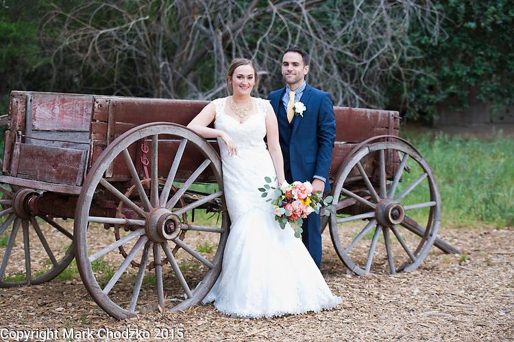 Josh & Lauren Carlton at the Temecula Creek Inn.