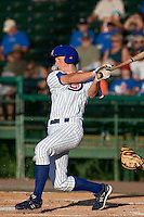 DJ LeMahieu (17) of the Daytona Cubs during a game vs. the Brevard County Manatees May 25 2010 at Jackie Robinson Ballpark in Daytona Beach, Florida. Daytona won the game against Brevard by the score of 5-3.  Photo By Scott Jontes/Four Seam Images