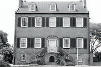 Savannah:  Isaiah Davenport House, c. 1820.