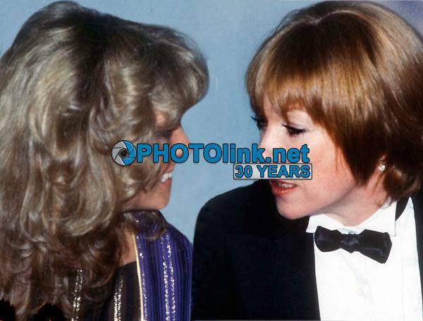 New York City<br /> 1978 FILE PHOTO<br /> Farrah Fawcett Shirley McLaine at Studio 54<br /> Photo by Adam Scull-PHOTOlink.net