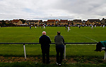 Burntisland Shipyard 0 Colville Park 7, 12/08/2017. The Recreation Ground, Scottish Cup First Preliminary Round. Fans watching Burntisland attack. Photo by Paul Thompson.