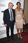 Robert De Niro and Grace Hightower  attending the 2013 Actors Fund Annual Gala at the Mariott Marquis Hotel in New York on 4/29/2013...