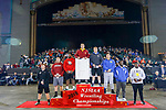 Michael O'Malley of Hasbrouck Heights defeats Christopher Foca of Bergen Catholic in the 170-pound final at the 2018 NJSIAA State Wrestling Championships at Atlantic City's Historic Boardwalk Hall on Sunday, March 4, 2018.