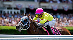 June 8, 2019 : #8, World of Trouble, ridden by jockey Manuel Franco, wins the Jaipur Invitational on Belmont Stakes Festival Saturday at Belmont Park in Elmont, New York. Scott Serio/Eclipse Sportswire/CSM