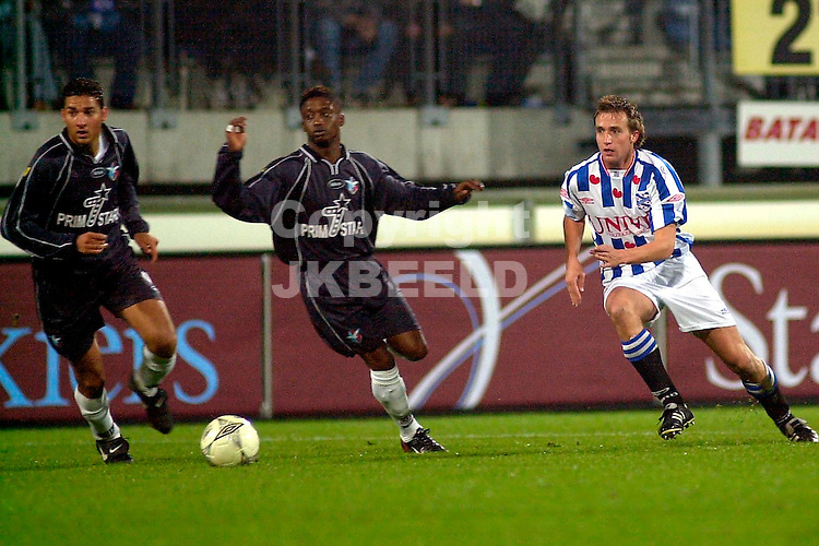 Heerenveen - Stormvogels Telstar Amstel Cup seizoen 2003-2004 28-10-2003 de lange voorbij bono