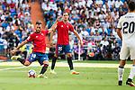 Osasuna's player Roberto Torres and Unai Garcia during a match of La Liga Santander at Santiago Bernabeu Stadium in Madrid. September 10, Spain. 2016. (ALTERPHOTOS/BorjaB.Hojas)