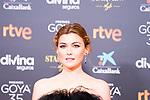 Actress Marta Nieto attends the red carpet previous to Goya Awards 2021 Gala in Malaga . March 06, 2021. (Alterphotos/Francis González)