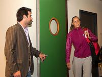 18-12-10, Tennis, Rotterdam, Reaal Tennis Masters 2010, Toernooidirecteur Raemon Sluiter houd de deur open voor Arantxa Rus