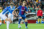 Ivan Rakitic of FC Barcelona in action during the La Liga match between FC Barcelona vs RCD Espanyol at the Camp Nou on 09 September 2017 in Barcelona, Spain. Photo by Vicens Gimenez / Power Sport Images