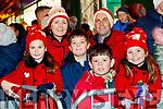 Shauna, Mary, Patrick, Darragh, Shane and Katelyn O'Riordan, Killarney, enjoying the Santa Parade in Killarney on Saturday evening last.