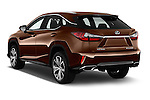 Car pictures of rear three quarter view of 2016 Lexus RX Executive 5 Door SUV Angular Rear